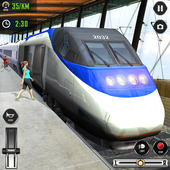 Train Driving Simulator 2020: New Train Games أيقونة