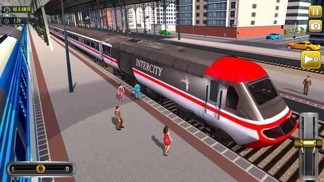 Train Driving Simulator 2020: New Train Games تصوير الشاشة 6