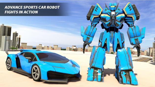 Grand Robot Car Transform War : Police Robot Games screenshot 4