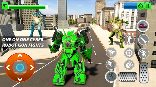 Grand Robot Car Transform War : Police Robot Games screenshot 17