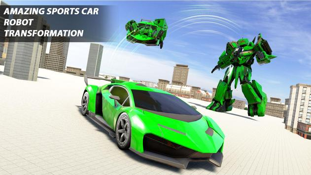 Grand Robot Car Transform War : Police Robot Games screenshot 20
