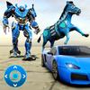 Zebra Robot Car icon