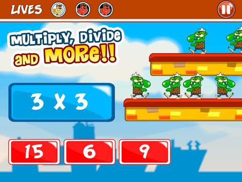 Basic Math Games for kids: Addition Subtraction screenshot 14