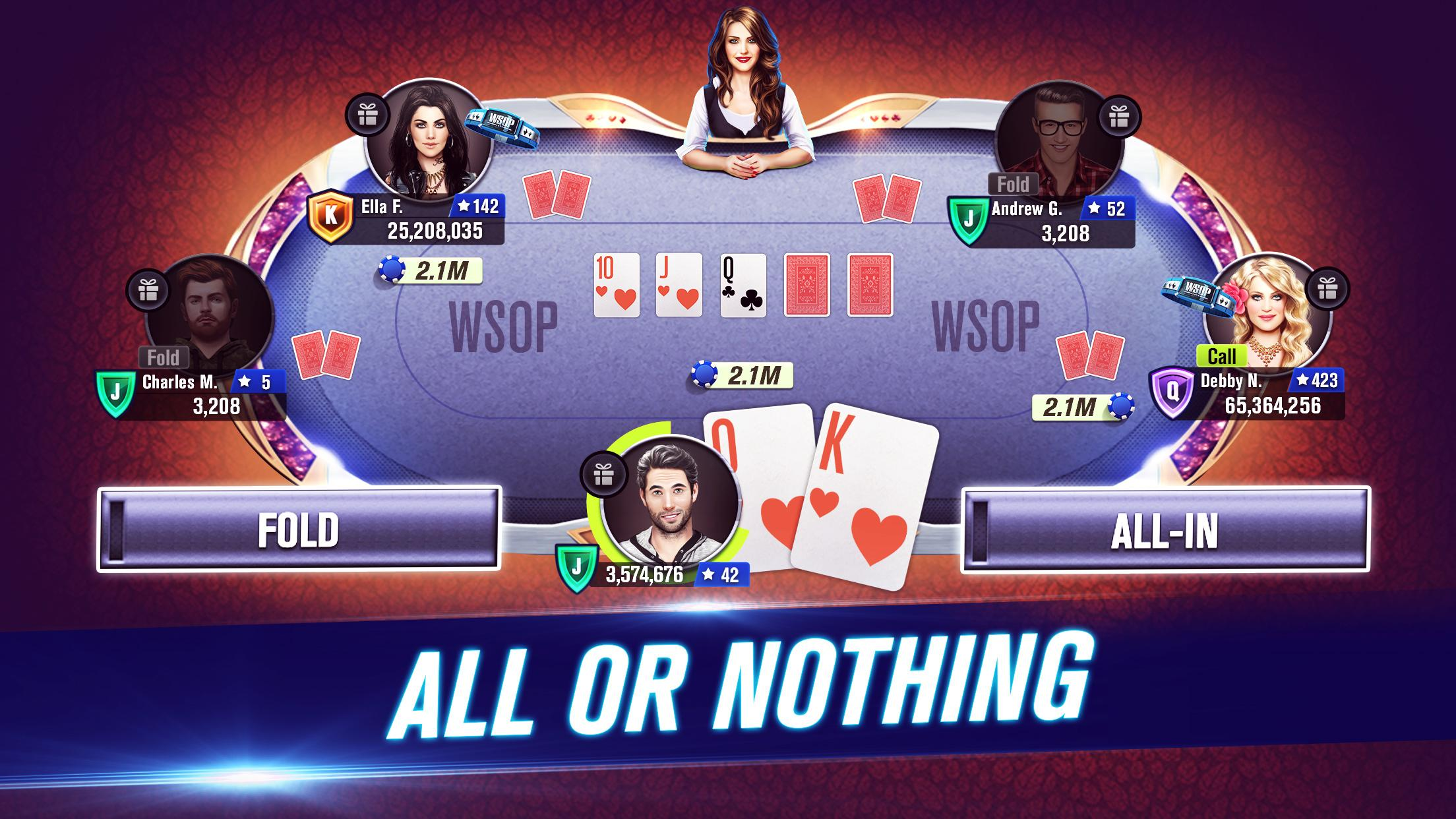 World Series Of Poker Wsop Free Texas Holdem Poker For Android Apk Download