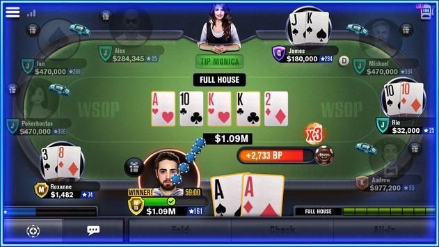 World Series of Poker – WSOP Free Texas Holdem screenshot 3