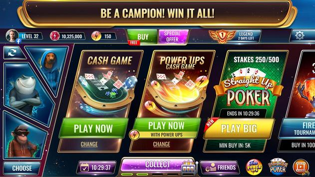 Wild Poker: Texas Holdem Poker Game with Power-Ups screenshot 1