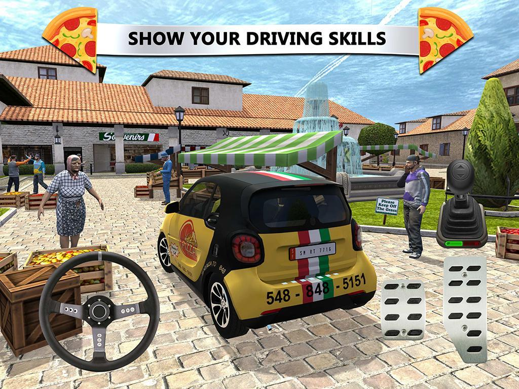 Pizza Delivery Driving Simulator For Android Apk Download