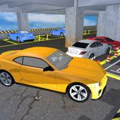 Multi Level Car Parking icon
