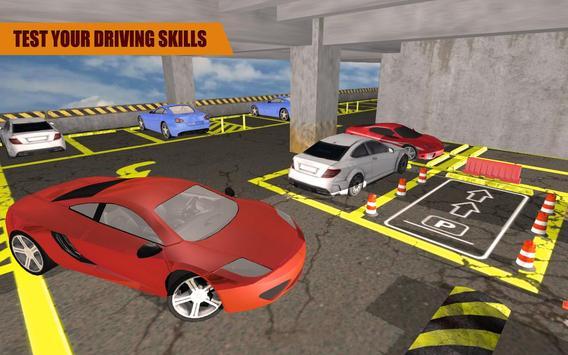 Multi Level Car Parking screenshot 2
