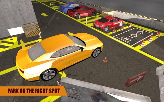 Multi Level Car Parking screenshot 8