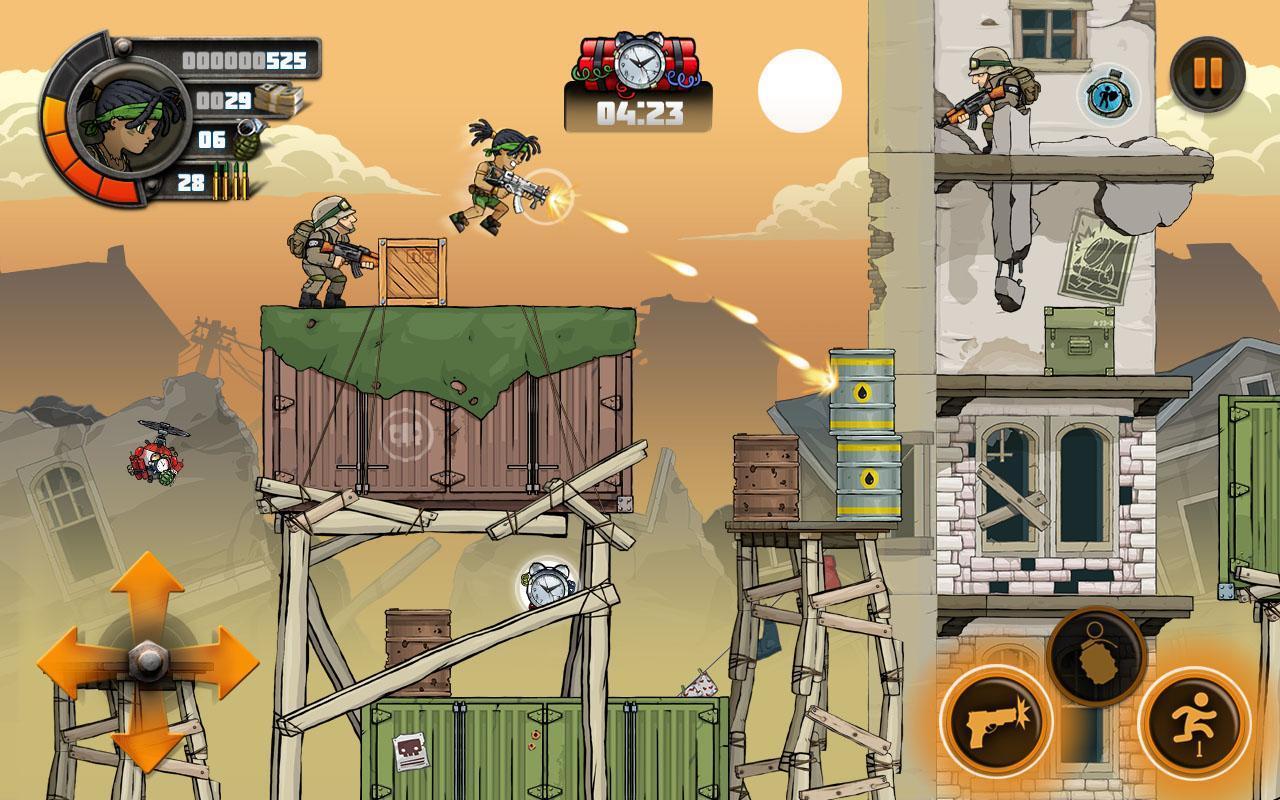 metal soldier 2 mod apk free download