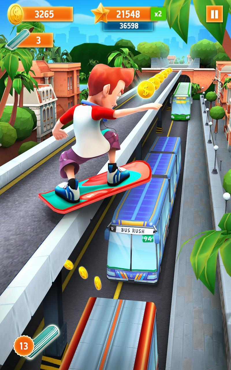 bus rush game play free online