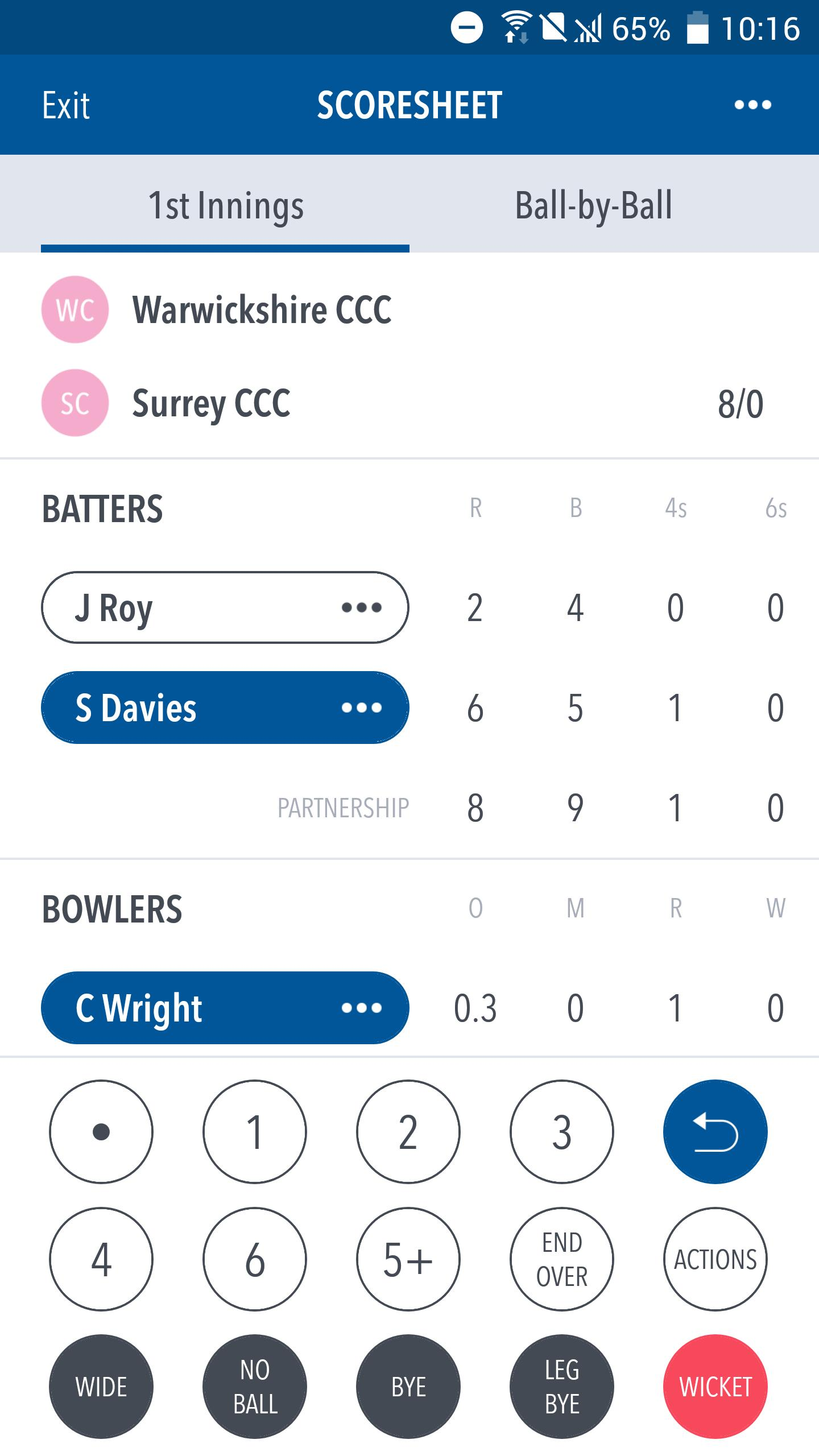 Play Cricket Scorer For Android Apk Download
