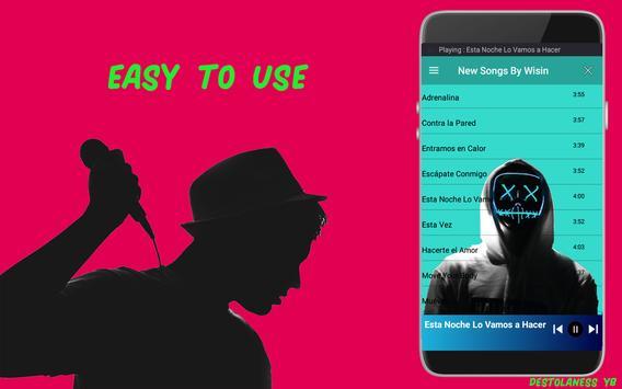 Wisin HQ Songs/Lyrics-Without internet screenshot 1