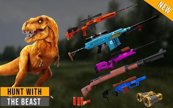 Wild Dinosaur hunt : Adventurer Hunting Games screenshot 11