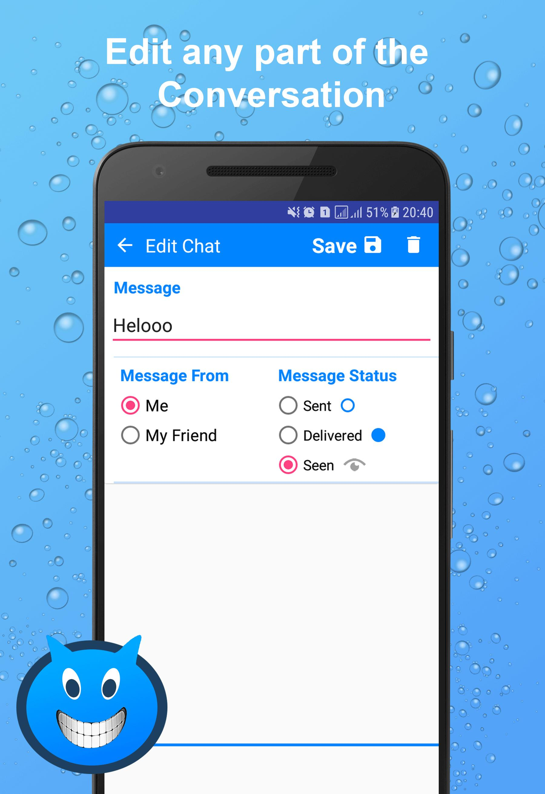 Fakenger - Fake chat messages for Android - APK Download