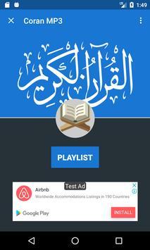 Coran MP3 poster