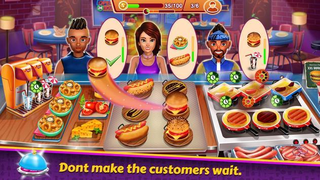 Kitchen Station Chef स्क्रीनशॉट 1
