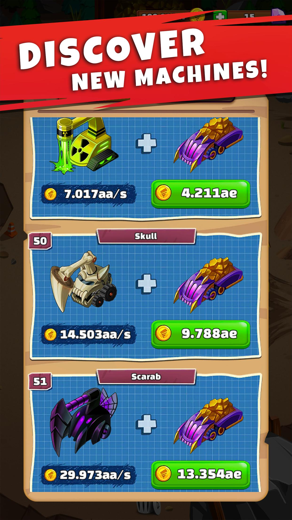 Merge Miner - Idle Tycoon for Android - APK Download