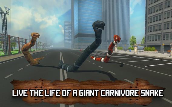 Venom Anaconda Simulator 3D poster