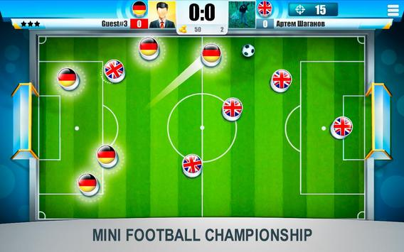 Mini Football Championship poster
