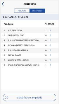 Federació Catalana Futbol Sala screenshot 2