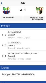 Federació Catalana Futbol Sala screenshot 4