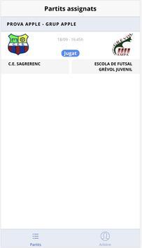 Federació Catalana Futbol Sala screenshot 5