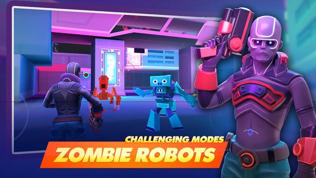 جنون الأبطال - Battle Royale Hero Shooter تصوير الشاشة 7