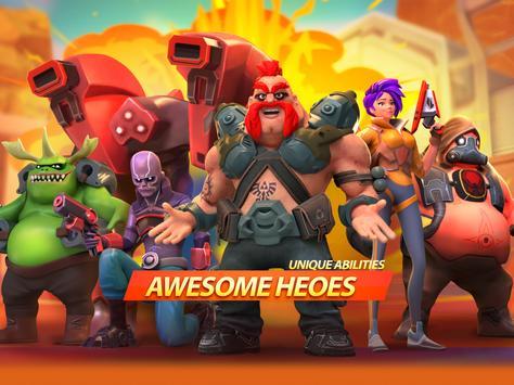 جنون الأبطال - Battle Royale Hero Shooter تصوير الشاشة 10