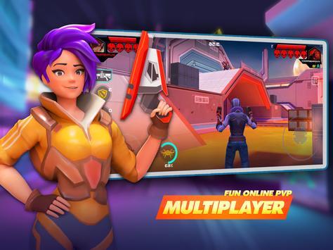 جنون الأبطال - Battle Royale Hero Shooter تصوير الشاشة 11