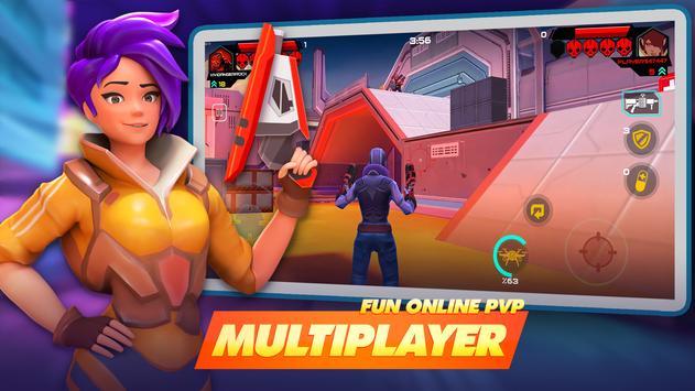 جنون الأبطال - Battle Royale Hero Shooter تصوير الشاشة 1
