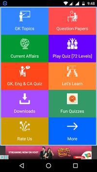 GK Quiz poster
