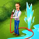 دانلود بازی Gardenscapes – New Acres v4.5.0 جورچین فرار از باغ اندروید+مود