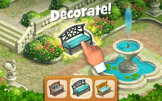 Gardenscapes скриншот 2