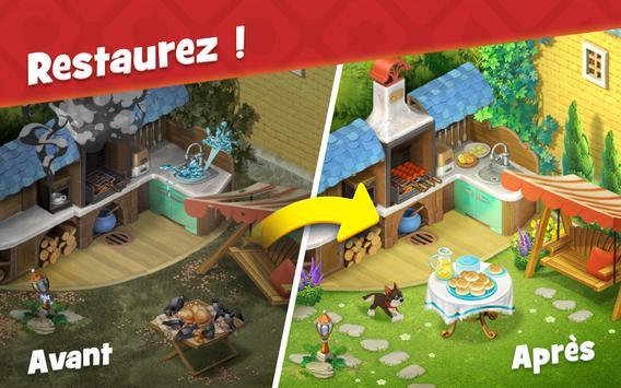 Gardenscapes capture d'écran 8