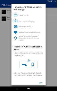 PS4 Second Screen स्क्रीनशॉट 6