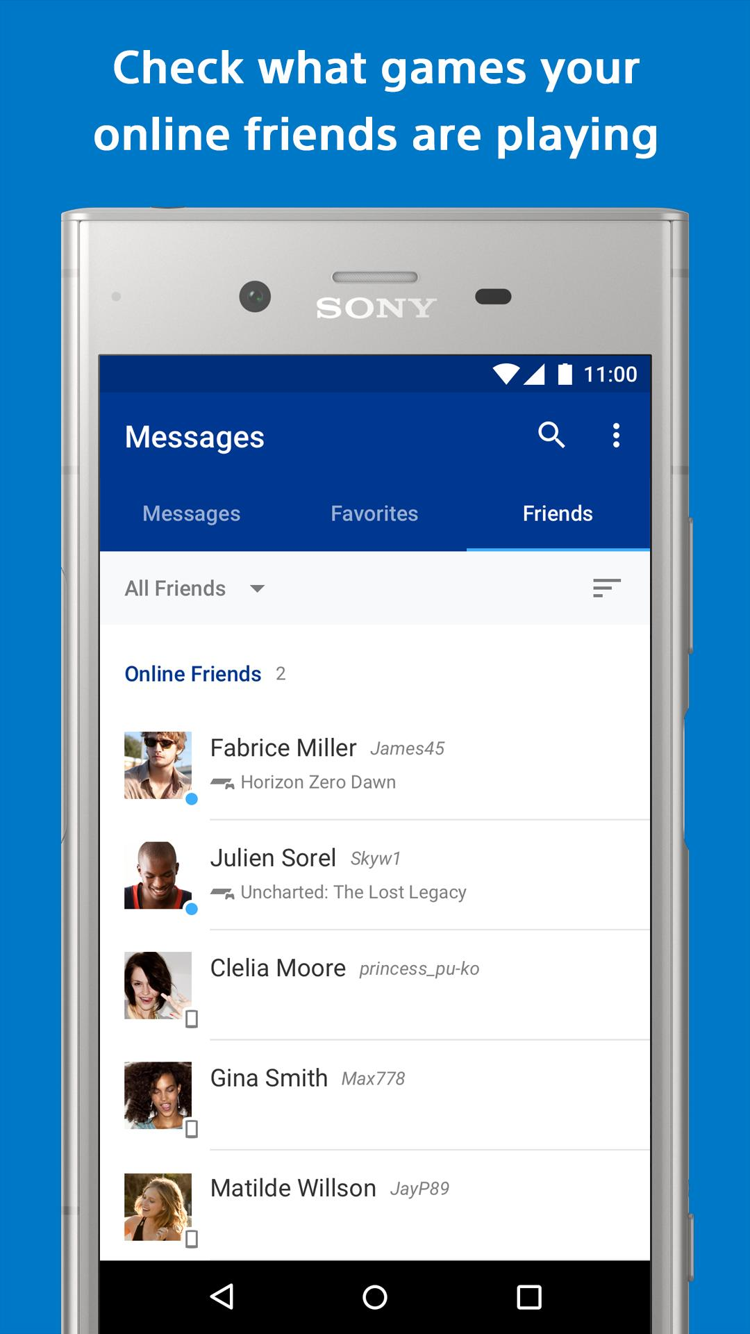 PlayStation Messages - Check your online friends for Android - APK