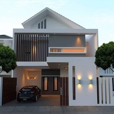 730 Koleksi Contoh Gambar Rumah Villa Minimalis Terbaik