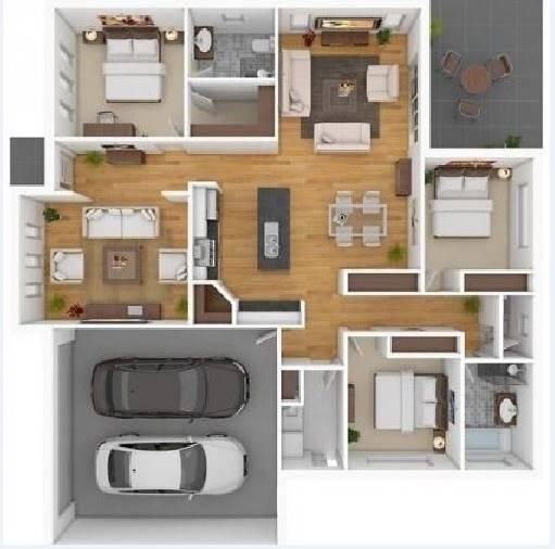 Gambar Desain Rumah Minimalis Dwg  300 denah rumah minimalis for android apk download