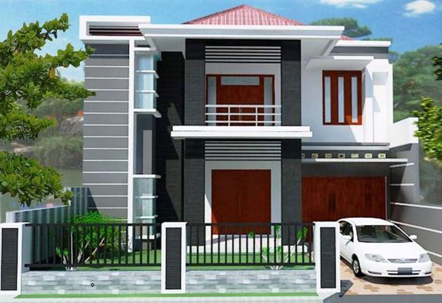Contoh Denah Rumah Kampung  600 model rumah minimalis terbaru for android apk download