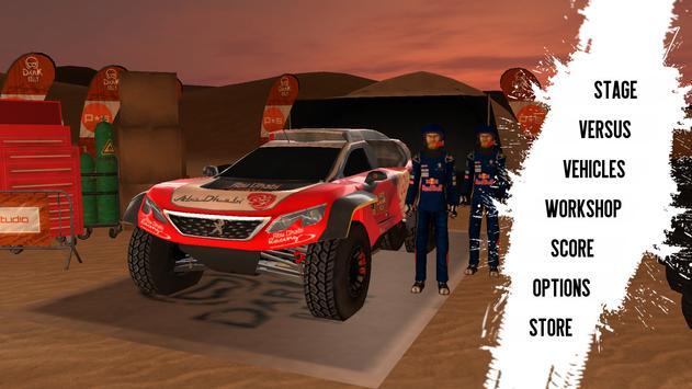 Dark Rally captura de pantalla 2