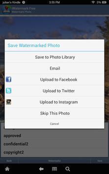 iWatermark-Watermark Photos with Logo, Text, QR... screenshot 1