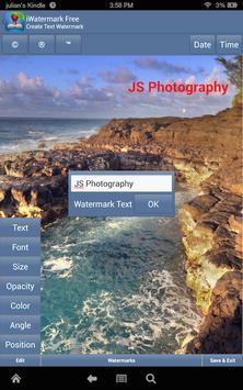 iWatermark-Watermark Photos with Logo, Text, QR... screenshot 3