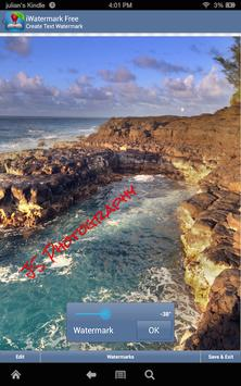 iWatermark-Watermark Photos with Logo, Text, QR... screenshot 5