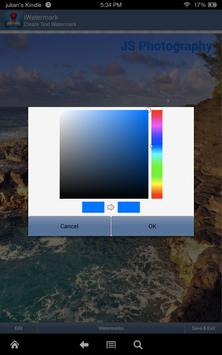 iWatermark-Watermark Photos with Logo, Text, QR... screenshot 6