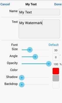 iWatermark+ Free screenshot 10