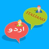 Urdu to Italian translation icon