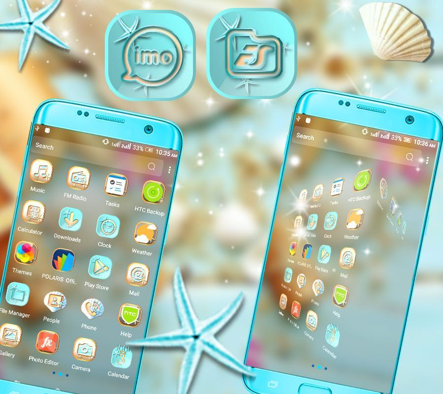 Sea Shell Launcher Theme for Android - APK Download