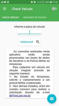Check Veículos PMAM screenshot 1